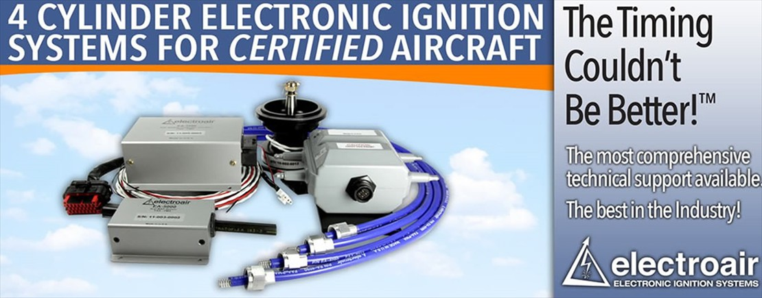Aircraft Electronic Ignition Systems Michigan by ElectroAir